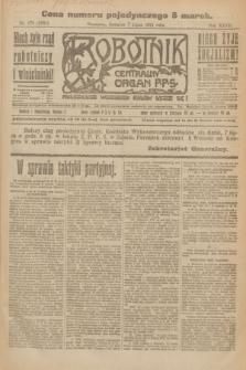 Robotnik : centralny organ P.P.S. R.27, nr 179 (7 lipca 1921) = nr 1301