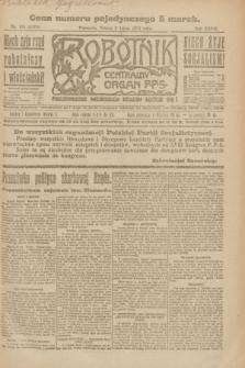 Robotnik : centralny organ P.P.S. R.27, nr 181 (9 lipca 1921) = nr 1303