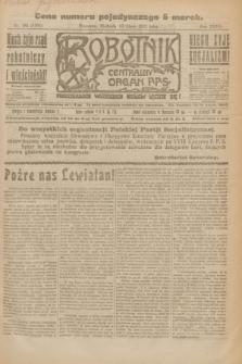 Robotnik : centralny organ P.P.S. R.27, nr 182 (10 lipca 1921) = nr 1304