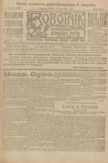 Robotnik : centralny organ P.P.S. R.27, nr 184 (12 lipca 1921) = nr 1306
