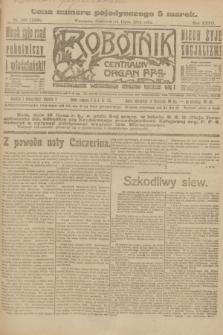 Robotnik : centralny organ P.P.S. R.27, nr 186 (14 lipca 1921) = nr 1308