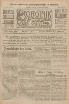 Robotnik : centralny organ P.P.S. R.27, nr 191 (19 lipca 1921) = nr 1313