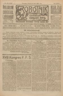 Robotnik : centralny organ P.P.S. R.27, nr 198 (26 lipca 1921) = nr 1320