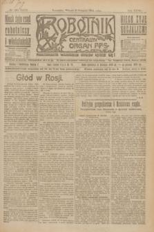 Robotnik : centralny organ P.P.S. R.27, nr 205 (2 sierpnia 1921) = nr 1327
