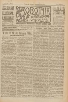 Robotnik : centralny organ P.P.S. R.27, nr 206 (3 sierpnia 1921) = nr 1328