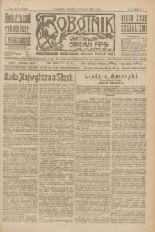 Robotnik : centralny organ P.P.S. R.27, nr 208 (5 sierpnia 1921) = nr 1330