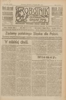 Robotnik : centralny organ P.P.S. R.27, nr 210 (7 sierpnia 1921) = nr 1332