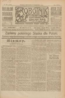 Robotnik : centralny organ P.P.S. R.27, nr 211 (8 sierpnia 1921) = nr 1333