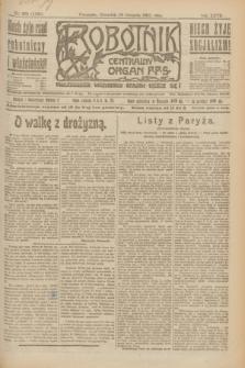 Robotnik : centralny organ P.P.S. R.27, nr 220 (18 sierpnia 1921) = nr 1342