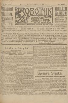 Robotnik : centralny organ P.P.S. R.27, nr 224 (22 sierpnia 1921) = nr 1346