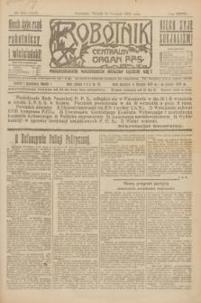 Robotnik : centralny organ P.P.S. R.27, nr 225 (23 sierpnia 1921) = nr 1347