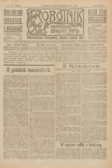 Robotnik : centralny organ P.P.S. R.27, nr 228 (26 sierpnia 1921) = nr 1350