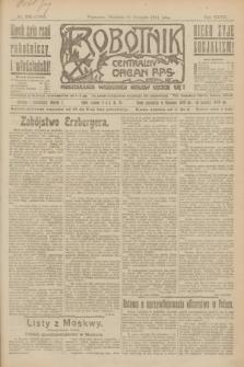 Robotnik : centralny organ P.P.S. R.27, nr 230 (28 sierpnia 1921) = nr 1352