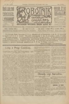 Robotnik : centralny organ P.P.S. R.27, nr 231 (29 sierpnia 1921) = nr 1353