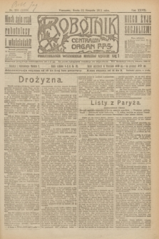 Robotnik : centralny organ P.P.S. R.27, nr 233 (31 sierpnia 1921) = nr 1355