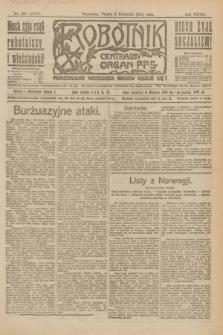 Robotnik : centralny organ P.P.S. R.27, nr 235 (2 września 1921) = nr 1357