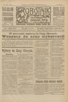 Robotnik : centralny organ P.P.S. R.27, nr 238 (5 września 1921) = nr 1360