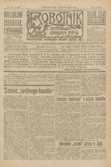 Robotnik : centralny organ P.P.S. R.27, nr 240 (7 września 1921) = nr 1362