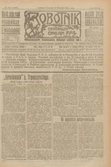 Robotnik : centralny organ P.P.S. R.27, nr 241 (8 września 1921) = nr 1363