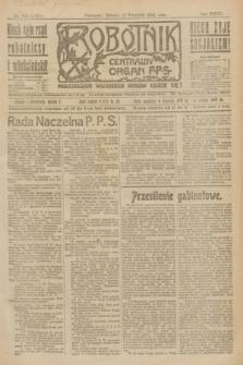 Robotnik : centralny organ P.P.S. R.27, nr 246 (13 września 1921) = nr 1368