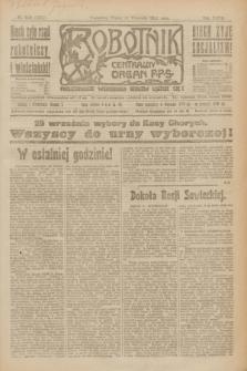 Robotnik : centralny organ P.P.S. R.27, nr 249 (16 września 1921) = nr 1371