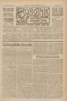 Robotnik : centralny organ P.P.S. R.27, nr 250 (17 września 1921) = nr 1372