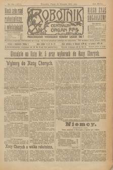 Robotnik : centralny organ P.P.S. R.27, nr 256 (23 września 1921) = nr 1378