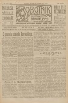 Robotnik : centralny organ P.P.S. R.27, nr 260 (27 września 1921) = nr 1382