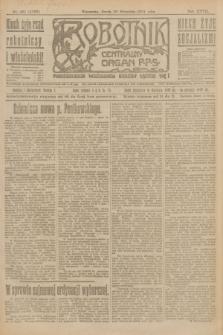 Robotnik : centralny organ P.P.S. R.27, nr 261 (28 września 1921) = nr 1383