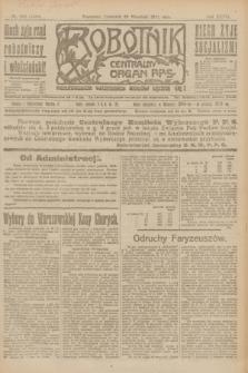 Robotnik : centralny organ P.P.S. R.27, nr 262 (29 września 1921) = nr 1384