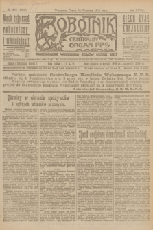 Robotnik : centralny organ P.P.S. R.27, nr 263 (30 września 1921) = nr 1385