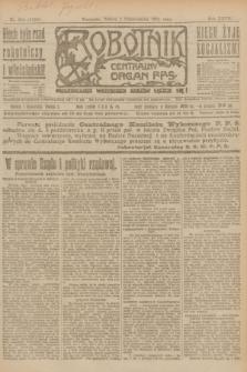Robotnik : centralny organ P.P.S. R.27, nr 264 (1 października 1921) = nr 1386