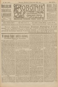 Robotnik : centralny organ P.P.S. R.27, nr 265 (2 października 1921) = nr 1387