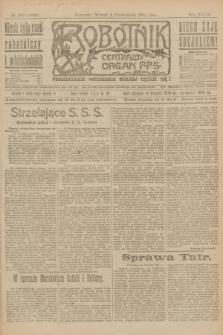 Robotnik : centralny organ P.P.S. R.27, nr 267 (4 października 1921) = nr 1389