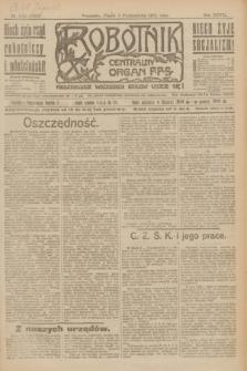 Robotnik : centralny organ P.P.S. R.27, nr 270 (7 października 1921) = nr 1392