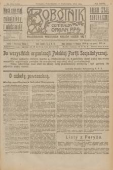 Robotnik : centralny organ P.P.S. R.27, nr 273 (10 października 1921) = nr 1395