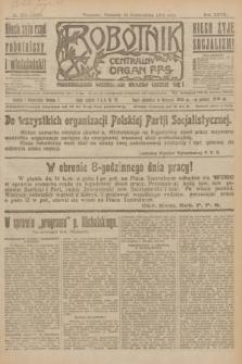 Robotnik : centralny organ P.P.S. R.27, nr 276 (13 października 1921) = nr 1398