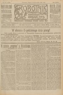 Robotnik : centralny organ P.P.S. R.27, nr 277 (14 października 1921) = nr 1399