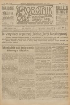 Robotnik : centralny organ P.P.S. R.27, nr 280 (17 października 1921) = nr 1402
