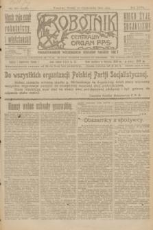Robotnik : centralny organ P.P.S. R.27, nr 281 (18 października 1921) = nr 1403