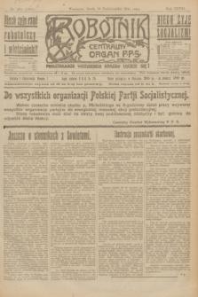 Robotnik : centralny organ P.P.S. R.27, nr 282 (19 października 1921) = nr 1404