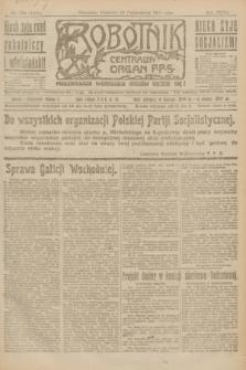 Robotnik : centralny organ P.P.S. R.27, nr 283 (20 października 1921) = nr 1405