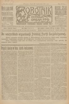 Robotnik : centralny organ P.P.S. R.27, nr 284 (21 października 1921) = nr 1406