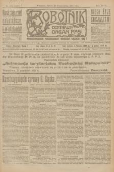 Robotnik : centralny organ P.P.S. R.27, nr 285 (22 października 1921) = nr 1407