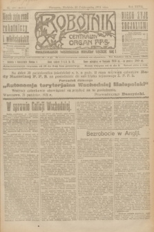 Robotnik : centralny organ P.P.S. R.27, nr 286 (23 października 1921) = nr 1408