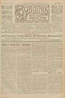 Robotnik : centralny organ P.P.S. R.27, nr 288 (25 października 1921) = nr 1410