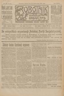 Robotnik : centralny organ P.P.S. R.27, nr 294 (31 października 1921) = nr 1416