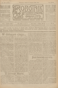 Robotnik : centralny organ P.P.S. R.27, nr 299 (5 listopada 1921) = nr 1421