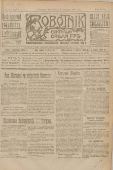 Robotnik : centralny organ P.P.S. R.27, nr 301 (7 listopada 1921) = nr 1423