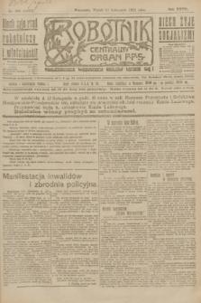 Robotnik : centralny organ P.P.S. R.27, nr 305 (11 listopada 1921) = nr 1427